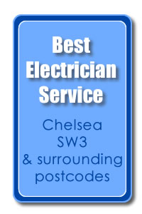 Best Electrician Award SW3 Chelsea