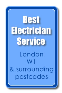Best London W1 Electrician award